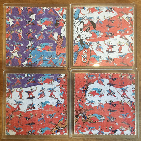 Disney / Goofy - Blotter Art - Highly Collectible Artwork Blotter Paper Coaster (4 pack)