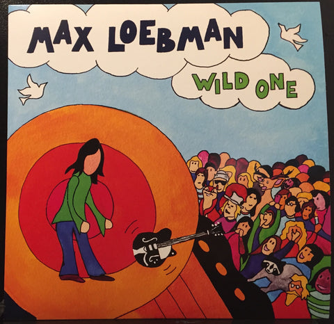 Max Loebman - Wild One -  New LP Record 2016 Shuga Records USA Blue Cotton Candy Vinyl Numbered & Signed - Chicago Rock / Psych