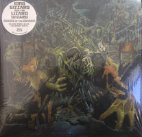 King Gizzard & the Lizard Wizard - Murder of the Universe - New Record 2017 ATO Indie Exclusive Blood Pool Blue Vinyl, Book, Promo Poster, Sticker & Download - Psychedelic Rock