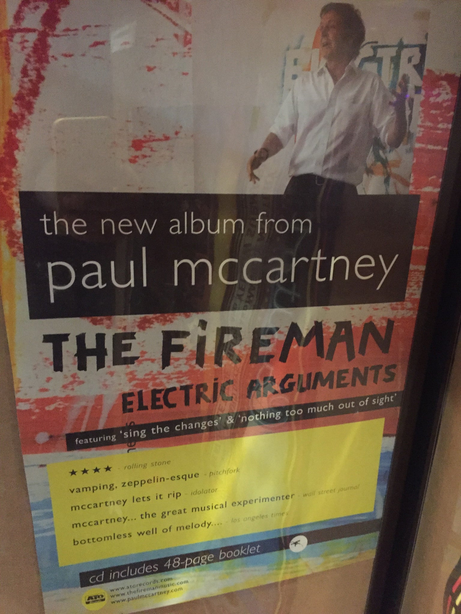The Fireman – Electric Arguments - 2008
