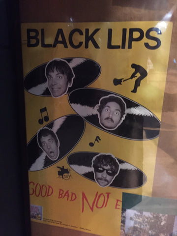 Black Lips – Good Bad Not Evil - 2007 - (double sided) Poster