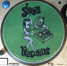 Shuga 2015 Limited Edition Slipmat (1st Run) - Dark Green Girl w/Victrola
