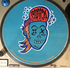 Shuga 2015 Limited Edition Slipmat (1st Run) - Underwater Shuga Dude (Blue and Orange)