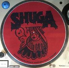 Shuga 2015 Limited Edition Slipmat (1st Run) - Red Queen w/Bleeding Eyes