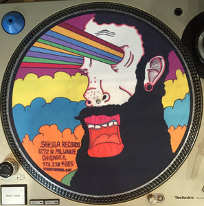 Shuga Records 2015 Limited Edition Vinyl Record Slipmat Goob Rainbow Eyes
