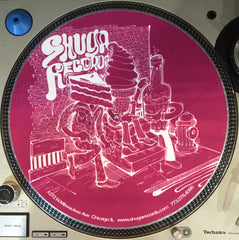 Shuga 2015 Limited Edition Slipmat (1st Run) - Fuchsia Dessert Street People