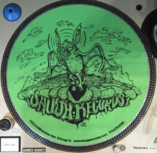 Shuga 2015 Limited Edition Slipmat (1st Run) - Green Bat with Trees