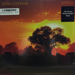 John Coltrane - Africa (1958) - New Vinyl Record 2015 (Europe Import 180 gram) - Jazz