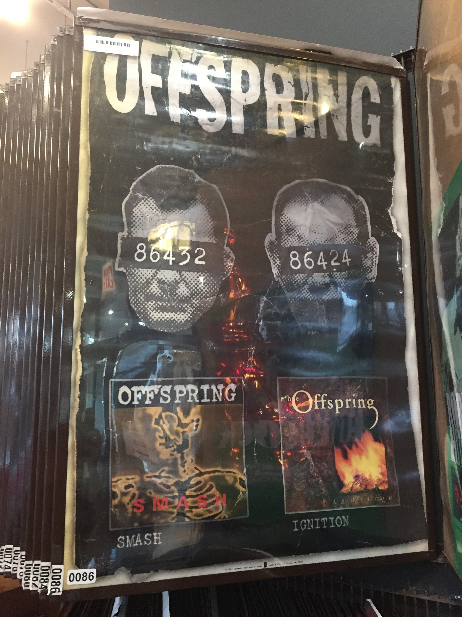 The Offspring – Smash/Ignition - 0086 Poster