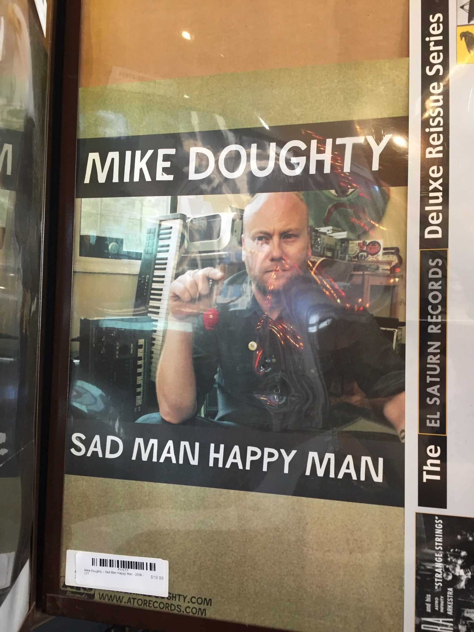 Mike Doughty – Sad Man Happy Man - 2009 - 0177 Poster