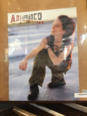 Ani DiFranco – Red Letter Year #2 - 2008 - Portrait - 0223 Poster