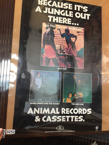 Animal Records - Because It's A Jungle Out There - 1982 - 0252 Poster