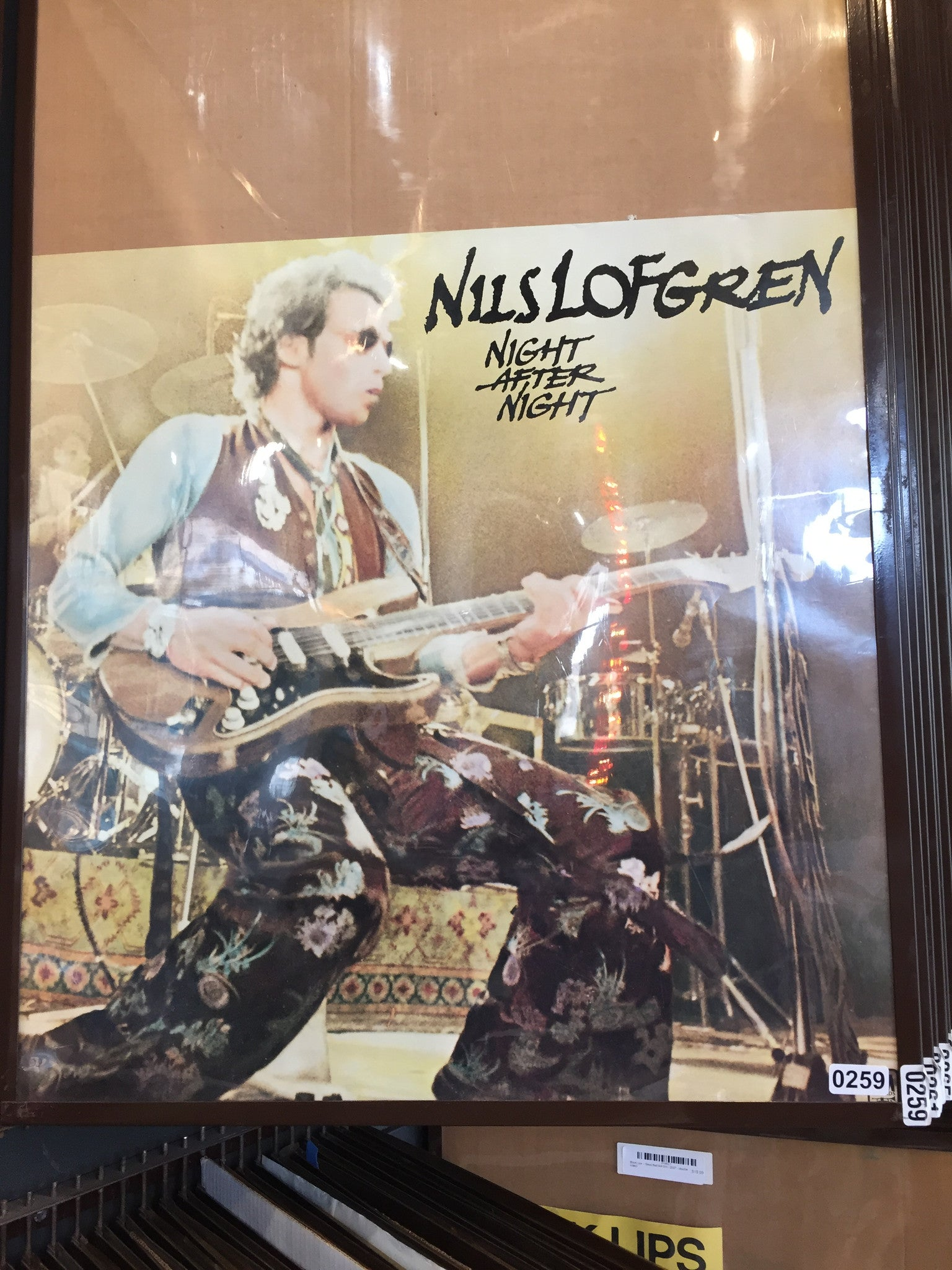 Nils Lofgren – Night After Night - 1977 - 0259 Poster