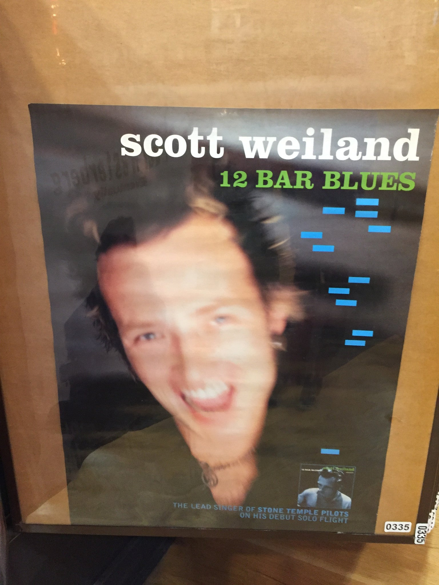 Scott Weiland – 12 Bar Blues - 1998 - 0335 Poster