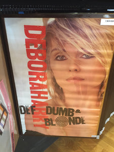 Deborah Harry – Def, Dumb & Blonde - 1989 - 0405 Poster
