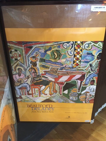Beauford Delaney - Jazz Quartet From New York to Paris - 2004 - 0425 Poster