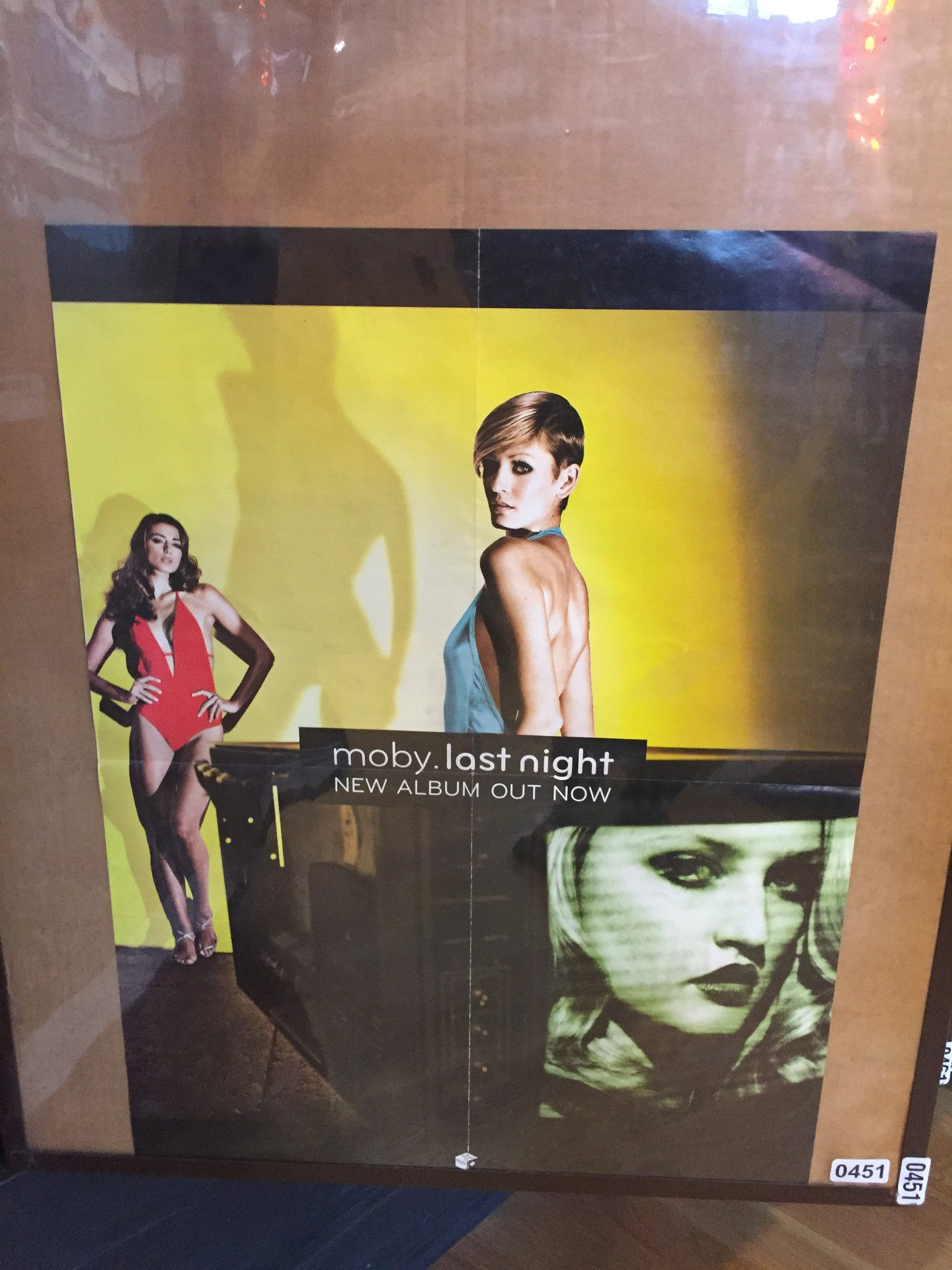 Moby – Last Night - 2008 - (double sided) - 0451 Poster