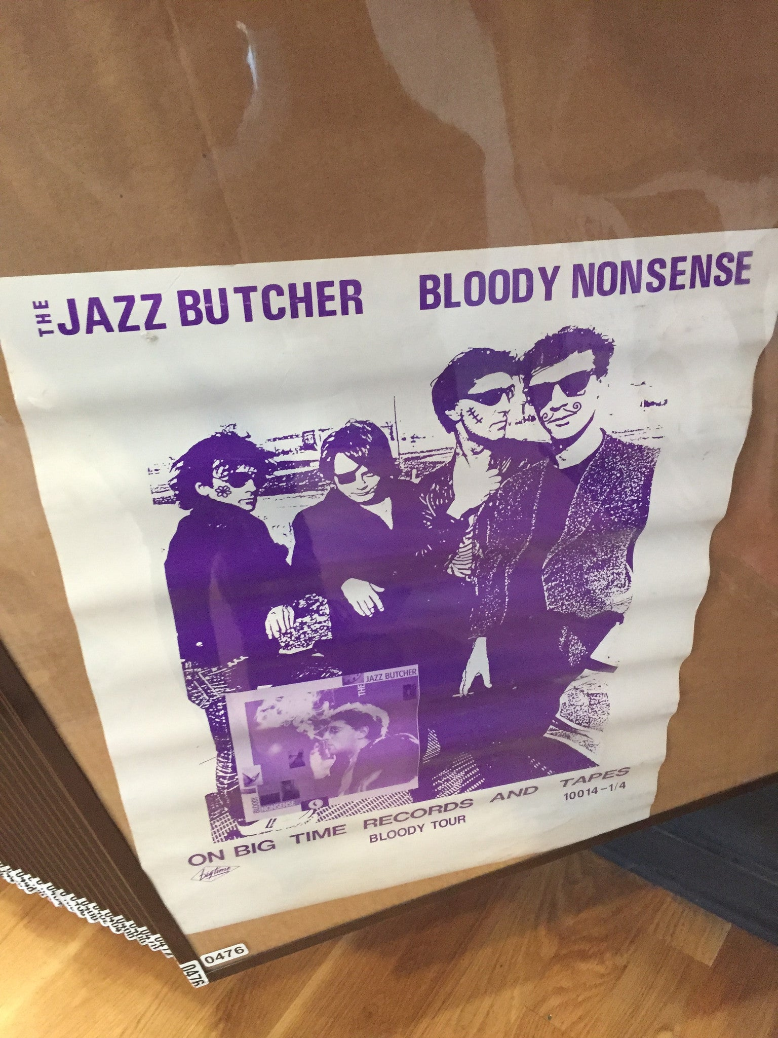 The Jazz Butcher – Bloody Nonsense - 1986 - 0476