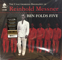 Ben Folds Five - Unauthorized Biography of Reinhold Messner - New Vinyl Record 2017 Concord Music Limited Edition Gatefold 180gram Opaque Red Vinyl Reissue (LTD to 500) - Power Pop / Alt-Rock