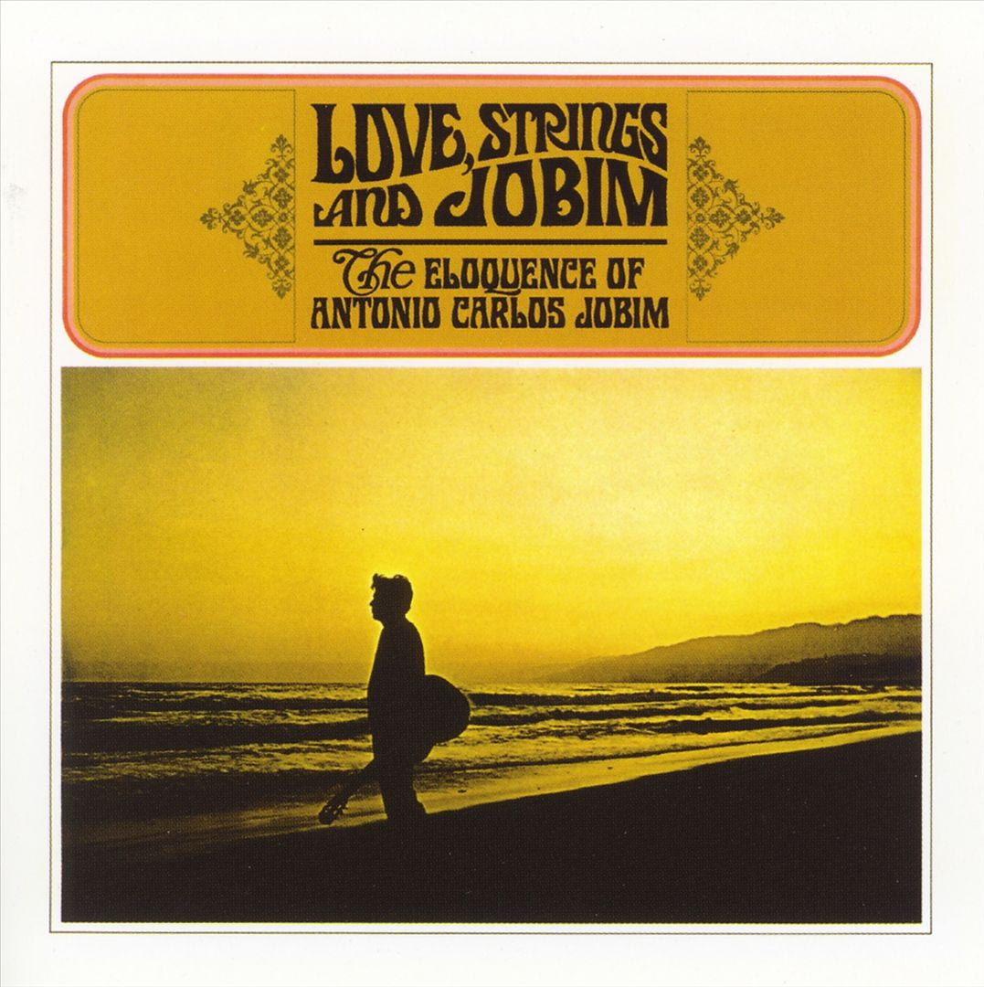 Antonio Carlos Jobim ‎– Love, Strings & Jobim - New Vinyl Record (Vintage 1966) Stereo USA - Jazz
