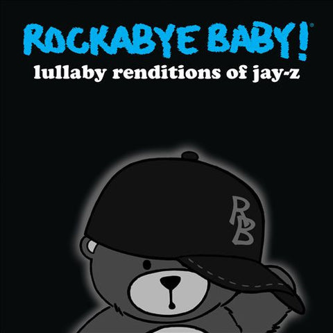 Andrew Bissell - Rockabye Baby! ‎– Lullaby Renditions Of Jay Z - New Vinyl Record (Black Friday Record Store Day 2014 exclusive WHITE Vinyl) w/MP3 - Children's