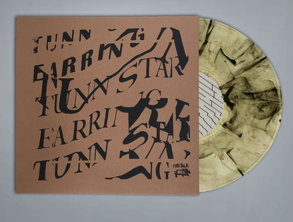 Earring - Tunn Star - New 2016 Shuga Records Exclusive (Hand Screened Cover 50 Made On Wicker Park Dirty Alley Colored Vinyl) LP + Download - Chicago IL Indie Rock / Fuzzpop / Sludgepop