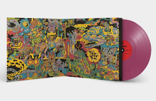 King Gizzard and The Lizard Wizard - Oddments - New Lp Recprd 2018 Flightless / ATO USA Purple Vinyl - Psychedelic Rock / Garage Rock