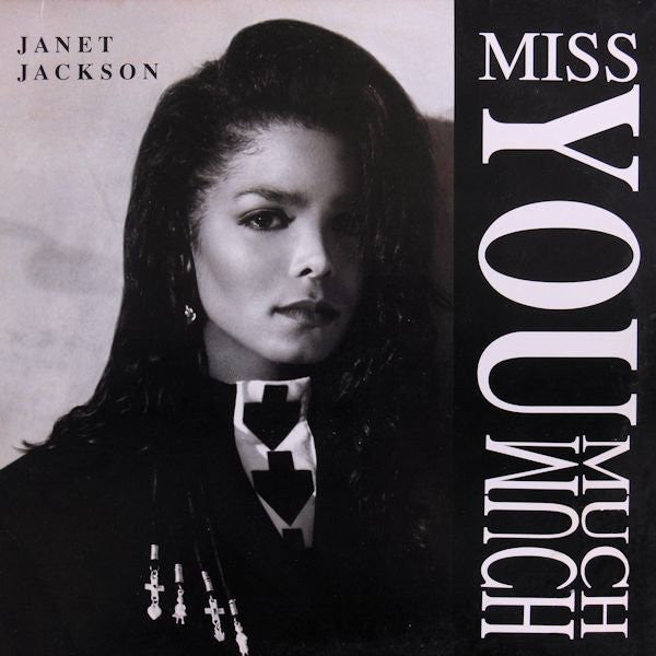 "Janet Jackson ‎– Miss You Much - New Vinyl Record 12"" USA 1989 - Soul/Pop"