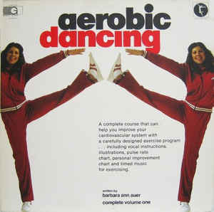 Barbara Ann Auer ‎– Aerobic Dancing - New Vinyl (1980) USA - Education, Disco