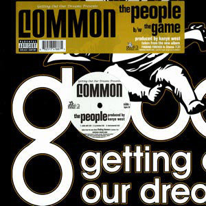 "Common – The People / The Game (Produced by Kanye West- Mint- 12"" Single USA (Promo) Hip Hop"
