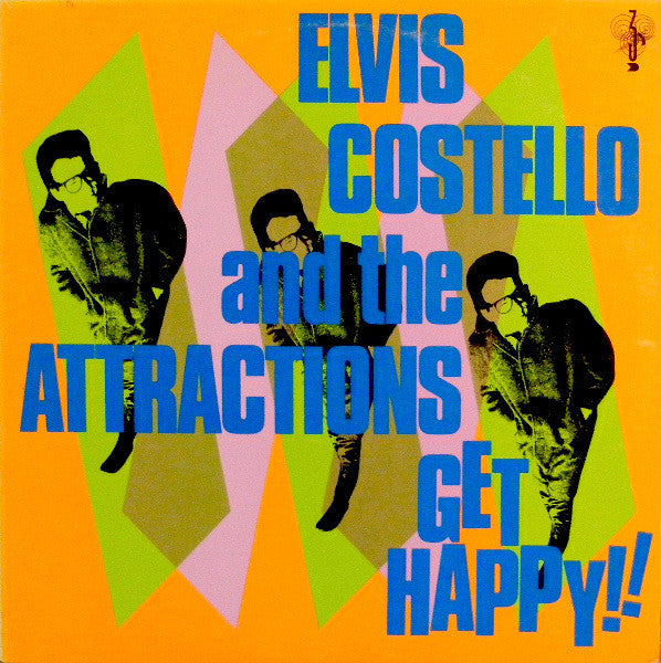 Elvis Costello - Get Happy!! - New Vinyl Record 2015 Universal Records Reissue 2-LP Gatefold - Rock