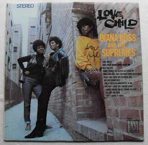 Diana Ross And The Supremes ‎– Love Child - VG+ 1968 Stereo Original Press USA - Soul / Funk
