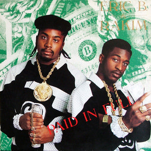 Eric B. & Rakim - Paid in Full - Deluxe Limited 3-LP Clear Vinyl!