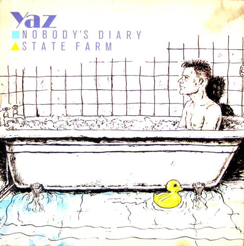 "Yazoo ‎– Nobody's Diary / State Farm - VG+ 12"" Single USA Record 1983 -  Synth-pop"