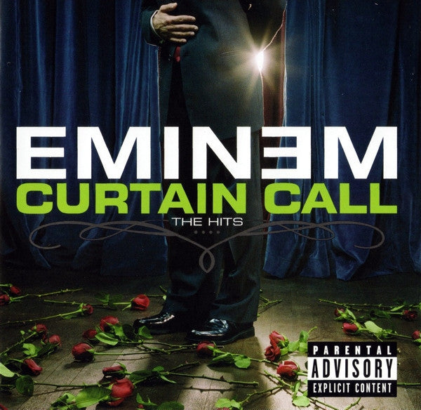 Eminem ‎– Curtain Call: The Hits - New Vinyl 2005 Aftermath 2-LP Compilation Pressing - Rap / Hip Hop