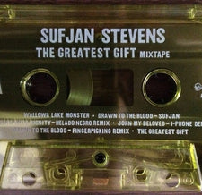 Sufjan Stevens ‎– The Greatest Gift (Mixtape) - New Cassette 2017 Asthmatic Kitty Translucent Yellow Tape (Outtakes, Remixes and Demos from Carrie & Lowell) - Indie / Alt-Rock