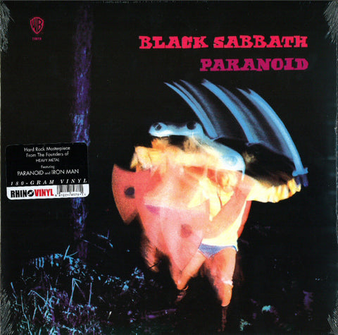Black Sabbath - Paranoid New Vinyl Record Rhino 180 Gram USA