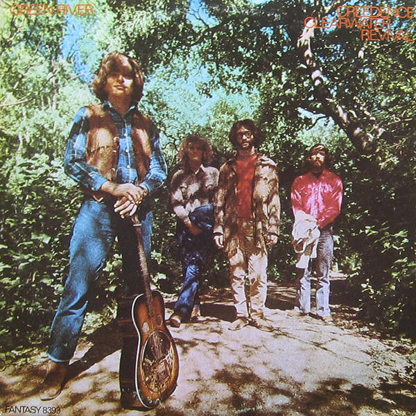 Creedence Clearwater Revival ‎– Green River - VG+ Lp Record 1969 Stereo USA Original Vinyl - Classic Rock