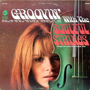 The Soulful Strings ‎– Groovin' With The Soulful Strings - VG+ Lp Record 1967 Stereo USA - Jazz / Soul-Jazz