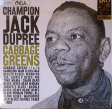 Champion Jack Dupree ‎– Cabbage Greens - New Vinyl 180 Gram USA - Blues