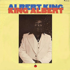 Albert King – King Albert - VG+ 1977 USA - Blues