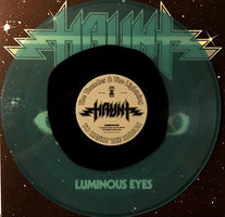 Haunt ‎– Luminous Eyes - New Vinyl Lp 2018 Shadow Kingdom Records Limited Edition 'Black in Blue' Colored Vinyl with Insert - Heavy Metal