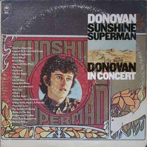 Donovan ‎– Sunshine Superman / In Concert At The Anaheim Convention Center - Mint- 1975 Stereo 2 Lp Set USA - Psychedelic Rock
