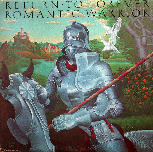 Return to Forever - Romantic Warrior - VG+ Stereo 1976 Original Press USA - Funk / Fusion