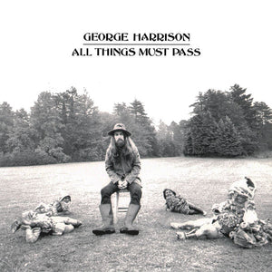 George Harrison ‎– All Things Must Pass - VG+ 3 Lp Record 1970 Stereo Original USA Vinyl & Matching Inner sleeves - Rock