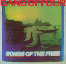 Gang of Four - Songs of the Free - New Vinyl 2015 Record Store Day Black Friday Limited Edition 180gram blue/purple/yellow splatter vinyl, limited to 4000 - Post-Punk / Dance-Punk