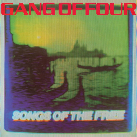 Gang of Four - Songs of the Free - New Lp Record Store Day 2015 Parlophone USA 180 gram RSD Clear with Multicolor Splatter Vinyl - Alternative Rock