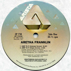 "Aretha Franklin – Jump To It - Mint- 12"" 1982 USA - Soul/Disco"