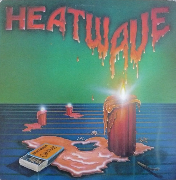 Heatwave ‎– Candles - VG+ Stereo 1980 Original Press USA - Funk / Disco