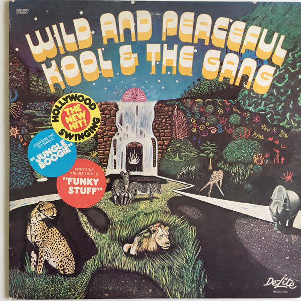 Kool & The Gang ‎– Wild And Peaceful - VG+ Lp Record 1973 USA Original Vinyl - Funk